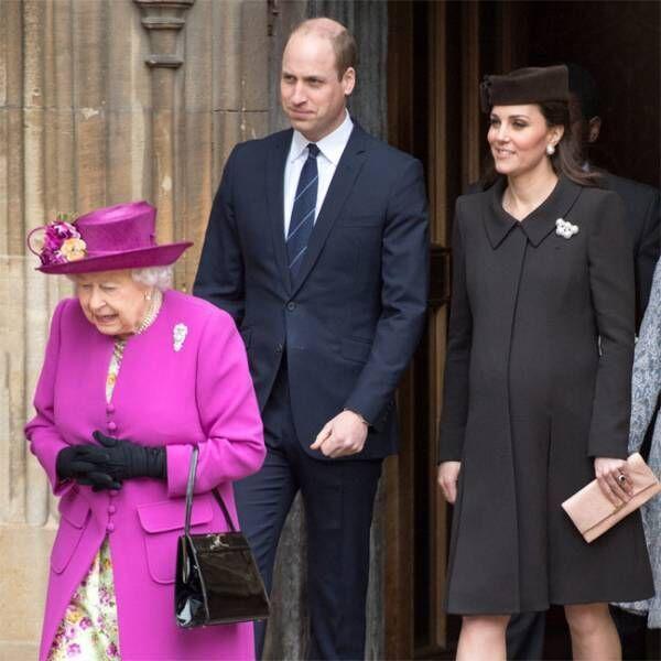 キャサリン妃、第3子男児を出産 ウィリアム王子が立ち合い