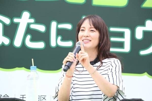 鈴木杏樹、新幹線好きの一面明かす「必ず写真撮りにいきます」