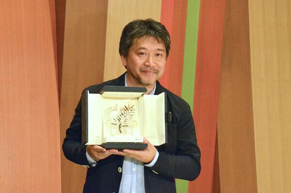 是枝裕和監督、凱旋会見「ようやく実感」カンヌで記者に感じた手応え