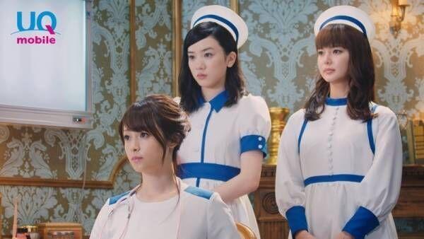 """深田・多部・永野""""3姉妹""""が医者&ナースに、芸人のネタに無反応"""