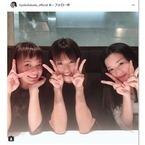 """深田恭子・多部未華子・永野芽郁の""""3姉妹""""ショット「可愛すぎ」と話題"""