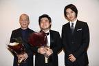 山﨑賢人、久石譲&辻井伸行と固い握手! シークレットゲストに観客歓声