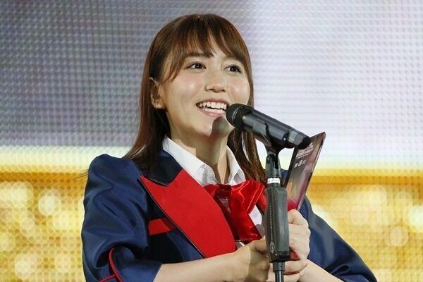 SKE48大場美奈、総選挙8位で初選抜入り!「名古屋に来て本当に良かった」