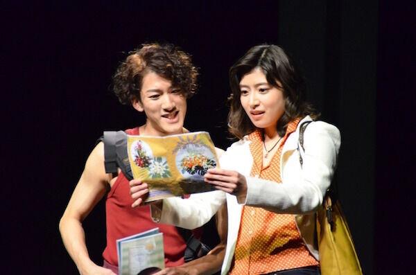 尾上右近、初の現代劇に緊張!?  南沢奈央と「一緒に踏み出したい」