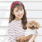 三田友梨佳アナ、カレンダー撮影で愛犬が寝落ち「良い思い出に」