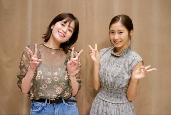 佐野ひなこ、共演の筧美和子に「お胸はどうなってるの!?」
