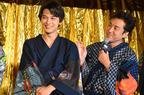 ムロツヨシ、吉沢亮に触りすぎ? 真選組に混ざり「いつもお亮の隣」