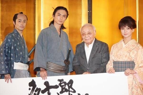 """高良健吾&多部未華子が恋!? """"日本映画界の巨匠""""に「キュンとしました」"""