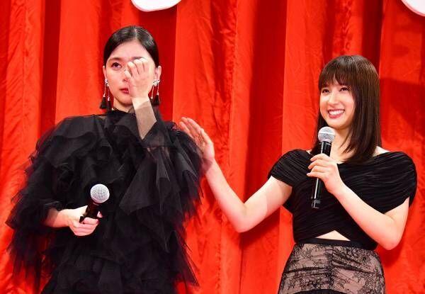 芳根京子、土屋太鳳との初共演作を「命を賭けて撮影した」と振り返って号泣