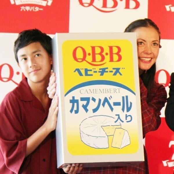土屋アンナ&イケメン長男・澄海、キュートな親子ひょっこり披露