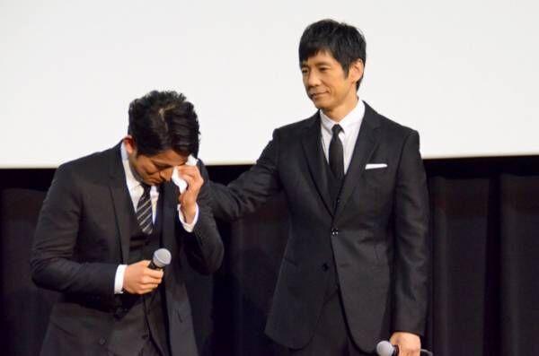 岡田准一、『散り椿』初日の木村大作監督に涙…「友のように思う」