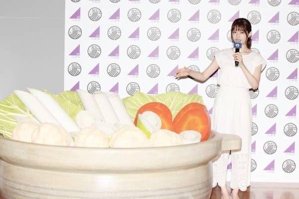 乃木坂46松村沙友理、お風呂ではなく…鍋の中に「ダシ出しました!」