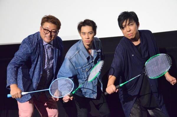 戸塚純貴&太田哲治、『銀魂』W山崎の熱いハグに観客も「尊いよ!」