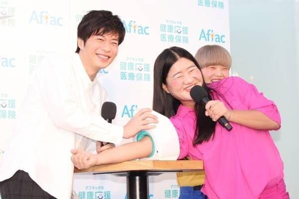 田中圭、ガンバレルーヤの体重に驚き「けっこう衝撃…」