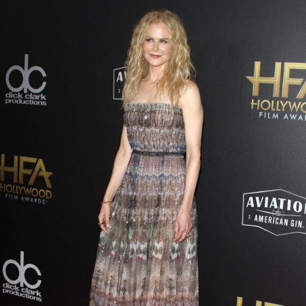 ニコール・キッドマンらがハリウッド映画賞を受賞