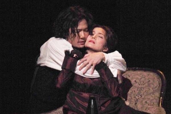 稲垣吾郎、情熱的なラブシーン披露! 再演で「ベートーヴェンを身近に」
