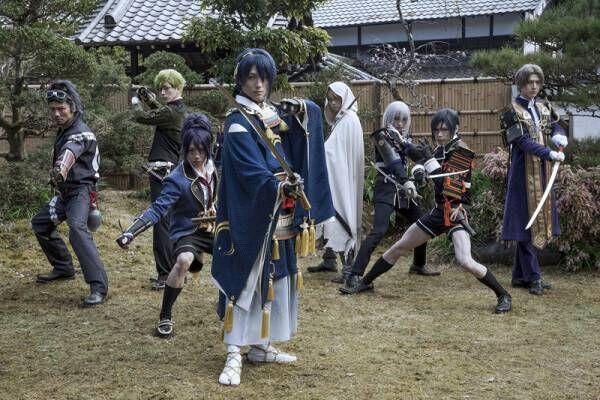 鈴木拡樹ら、刀剣男士のアクションが光る 『映画刀剣乱舞』特報公開