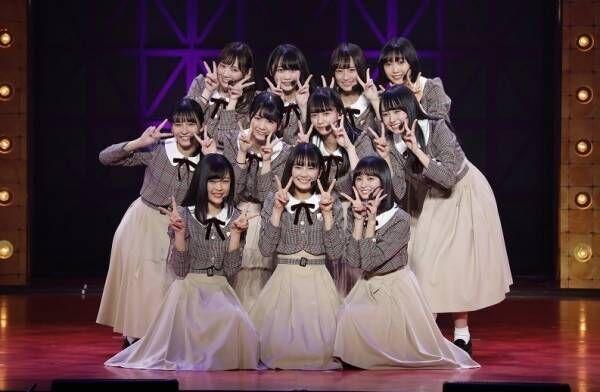 乃木坂46、最年少の筒井あやめら4期生11人がお披露目!