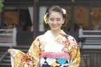 岡田結実、晴れ着姿で充実の2018年語る「思い出したくもない日も」