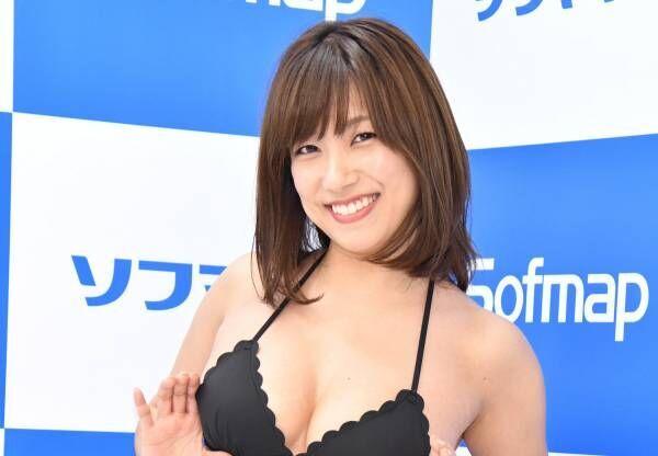 元SKE48の佐藤聖羅、常に触っているGカップは「ポニョポニョでふわふわ!」