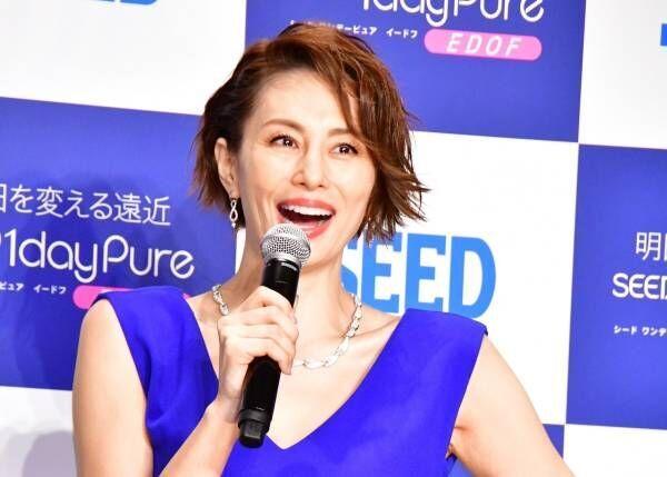 米倉涼子、18年前の自分の映像を見て「若っ! 今はだいぶ大人になったかな」