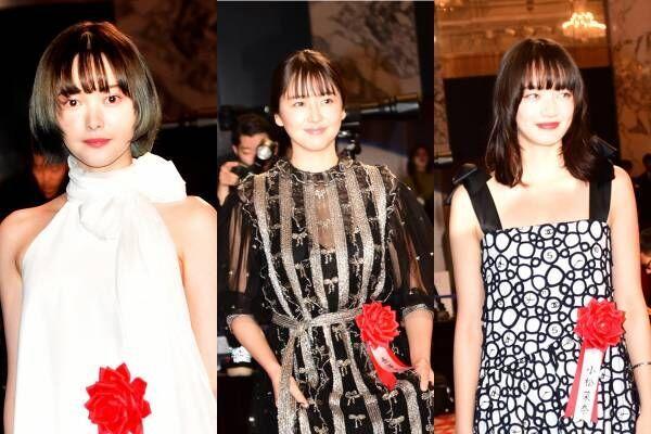 長澤まさみ、オーラで身長伸びた!? 報知映画賞の実力女優陣が艶やかドレス