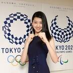 ミス美しい20代・是永瞳、五輪空手大使の任命式に緊張! 選手への手料理公約?