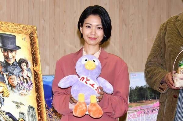 二階堂ふみ、埼玉県知事から公認をもらって「力強い気持ちになれました!」