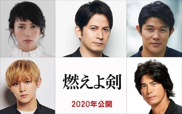 原田眞人監督×岡田准一、『燃えよ剣』映画化でタッグ! 大河主演集結