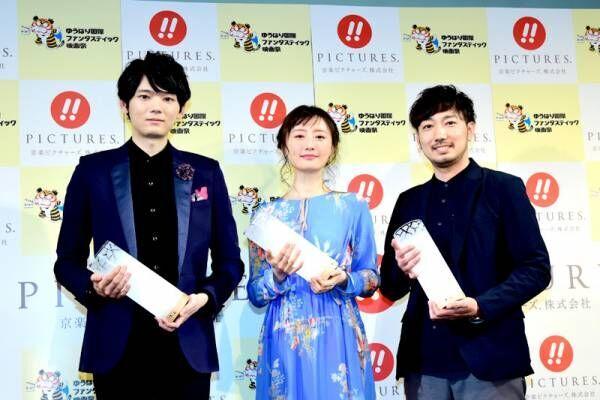 松本まりか、初の映画賞「女優19年目で…」 古川雄輝と受賞式に登場