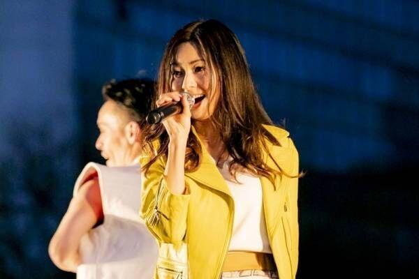 倉木麻衣、東京五輪に向けて熱唱! 澤穂希も感動「かっこよかった」