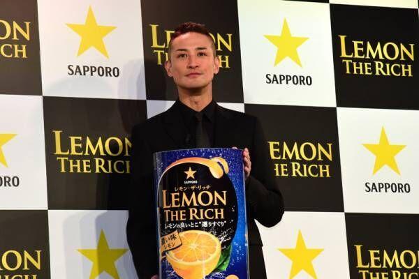 松岡昌宏、新レモンサワーのCM発表会で「お酒飲んで帰るだけ」驚き