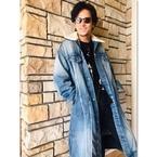 稲垣吾郎、香取慎吾から贈られたデニムコート姿披露にファン歓喜