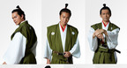 TAKAHIRO、ちょんまげ姿を披露! 市原隼人・岡田義徳と映画『3人の信長』