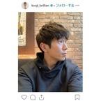 """with B""コージ、金髪から黒髪に!「かっこよすぎ」とファン絶賛"