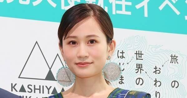 前田敦子、産後初の場でスレンダーワンピ姿「ありがとうございます」