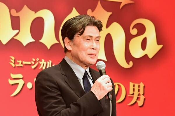 松本白鸚、『ラ・マンチャの男』50周年で東宝・松竹の演劇人に感謝