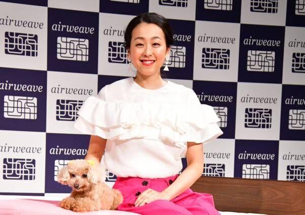 """浅田真央、愛犬""""エアロ""""とイベント初共演「久しぶりに会えてよかった!」と喜び"""