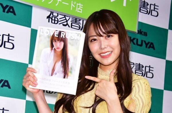 NMB48の白間美瑠、最新写真集はお尻推し「プリプリヒップで!」