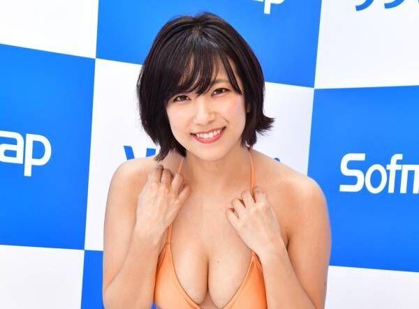 元SKE48の佐藤聖羅、DVDでバスト強調「上下左右に揺れまくってます」