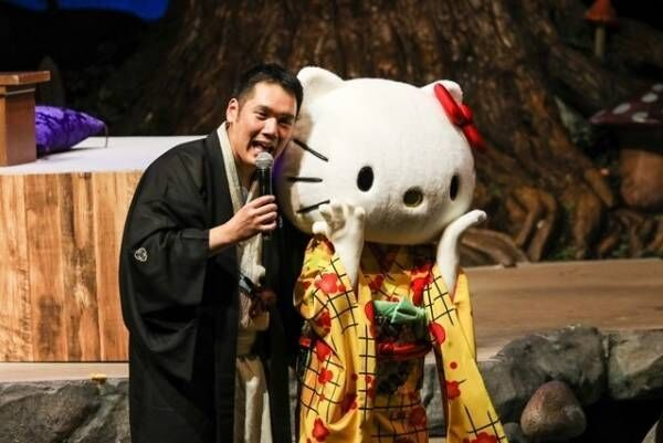 神田松之丞、ハローキティと二人会 - オリジナルグッズも発売