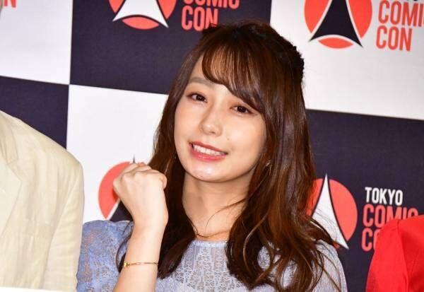 宇垣美里、来日するイケメン俳優に「いい匂いがしそう!」とラブコール