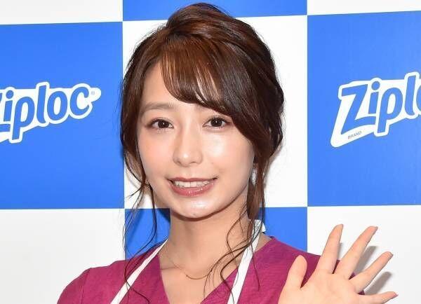 宇垣美里、シースルーエプロン姿で調理実演 料理は「無心になれるので好き」