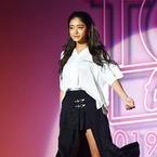 池田美優、美脚見せで観客魅了!「TGC teen 2019 Summer」トップ飾る