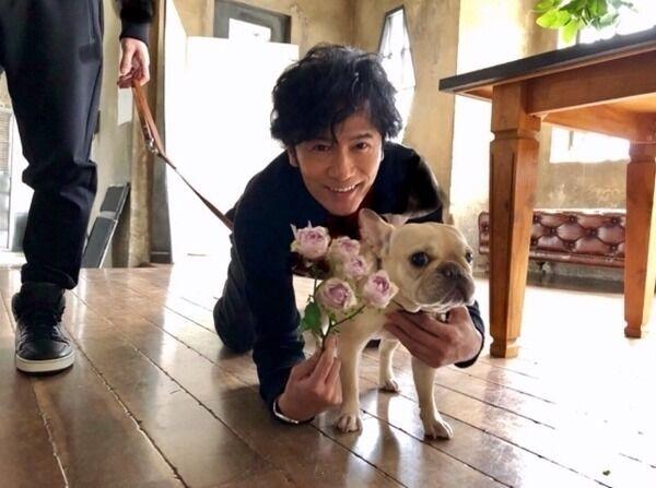"""稲垣吾郎、草なぎ剛の愛犬""""クルミ""""との写真公開「僕も彼のペットみたい」"""