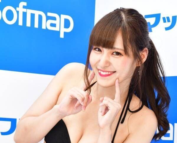 倉澤雪乃、初DVDで大胆にも手ブラを披露「開放的になりました」