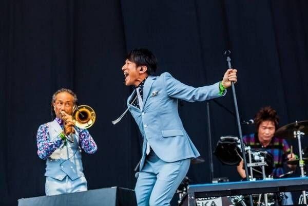 桜井和寿「スカパラ最高!」『サマソニ』でコラボ曲を初披露