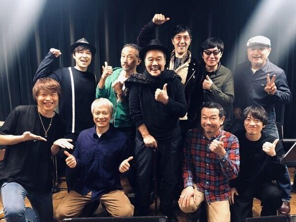 西田敏行、スカパラと『任侠学園』挿入歌「震えがくるくらい興奮」
