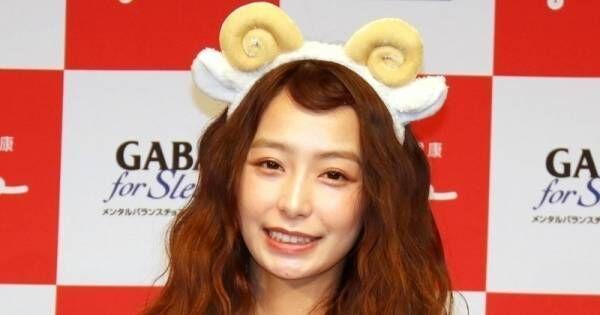宇垣美里、キュートなヒツジ姿を披露!「恥ずかしい」と照れ笑い