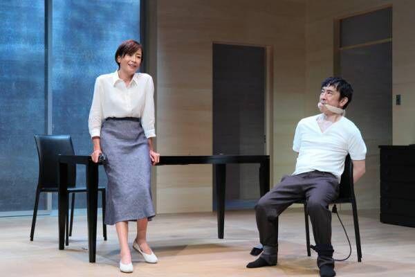 宮沢りえ、「感情のエッジ尖らせる」 堤真一・段田安則と緊迫の3人芝居